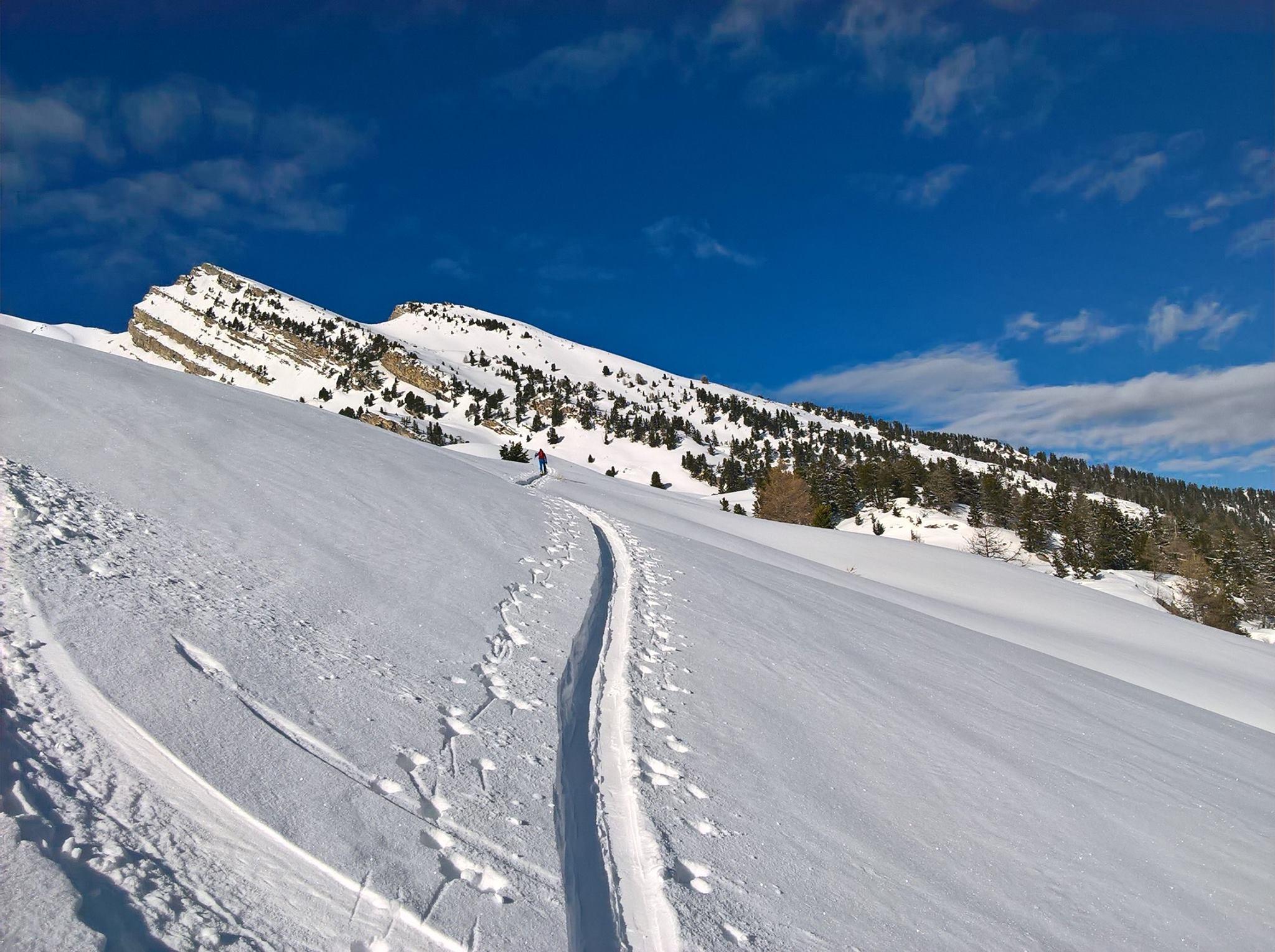 y a de la neige en ubaye